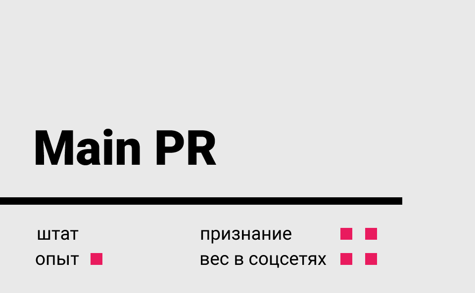 Main PR